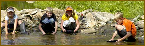 4th Grade Panning for Gold