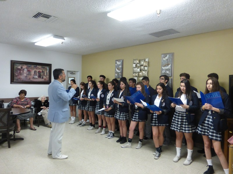 Choir Visiting Ararat Home Featured Photo