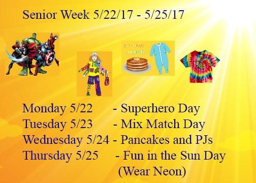 Senior Week Thumbnail Image