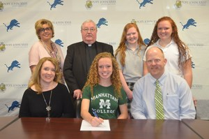Grace Campbell NLI signing