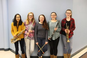 Jr. All-County Band Students