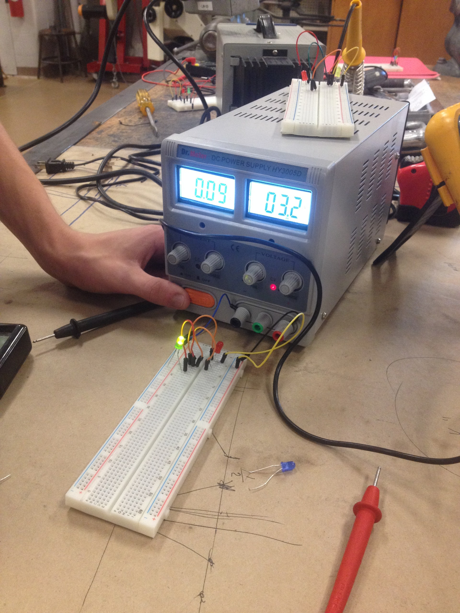 Breadboard Circuit Building