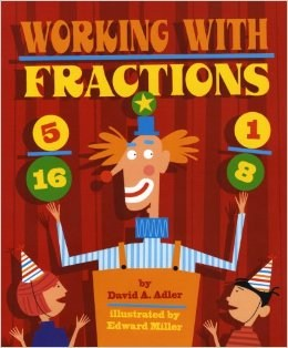 working with fractions book cover