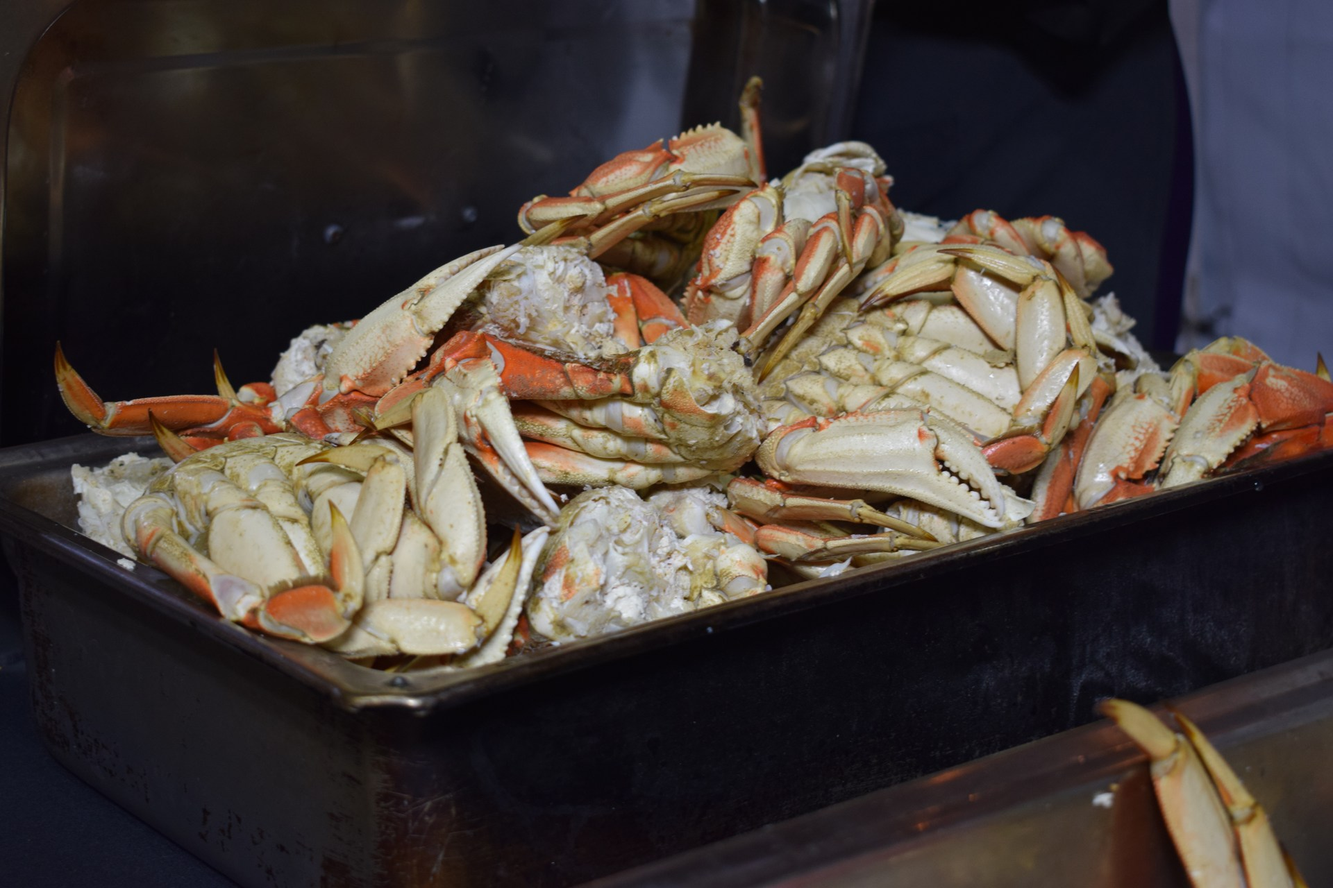 Pile of crab.