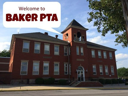 Picture of Baker School with tree in the front