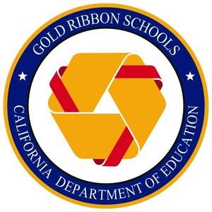 Gold Ribbon School Logo