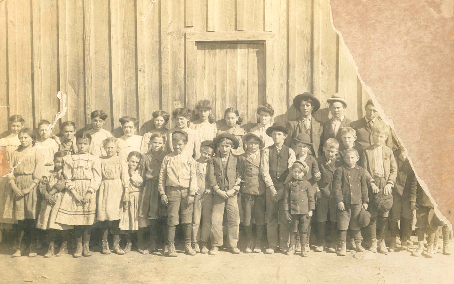 Grape Creek School circa. 1908