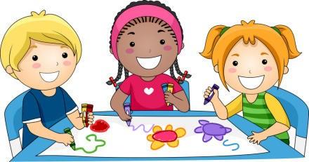 Image of children doing crafts