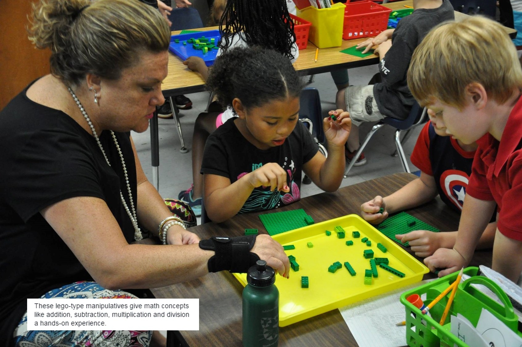 AES new math manipulatives