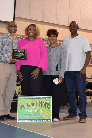 Summit Elementary Parent of The Year Awardee 2018