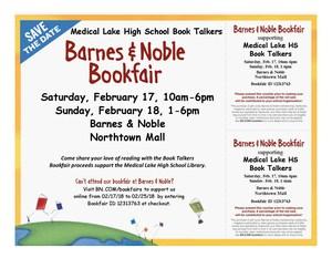 Book Talker Flyer with Vouchers
