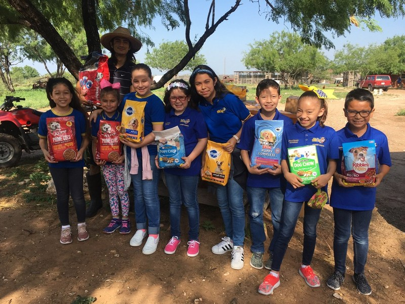 Lucas Elementary Raises Awareness for Yaqui Animal Rescue Thumbnail Image
