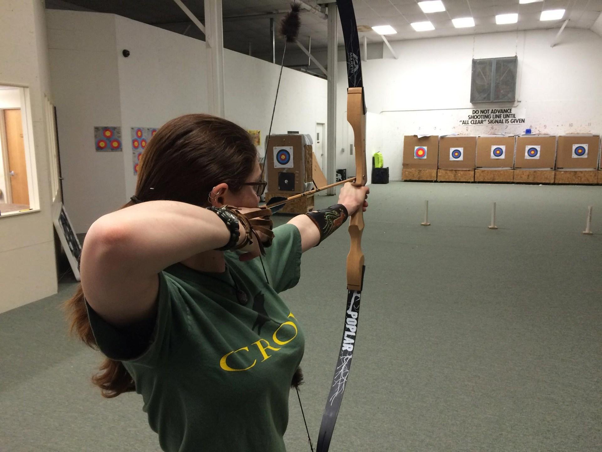 I do traditional/bare bow archery as a hobby.