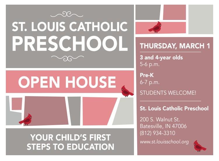 2018-2019 St. Louis Preschool Open House Thumbnail Image