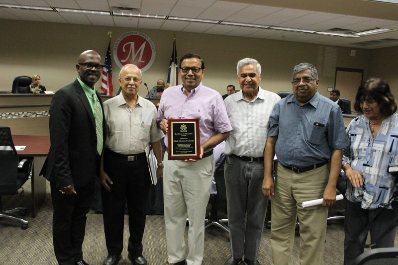 Manor ISD Board of Trustees Recognizes Hindu Charities for America Thumbnail Image