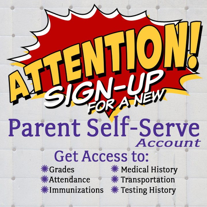 Parent Self-Serve Poster
