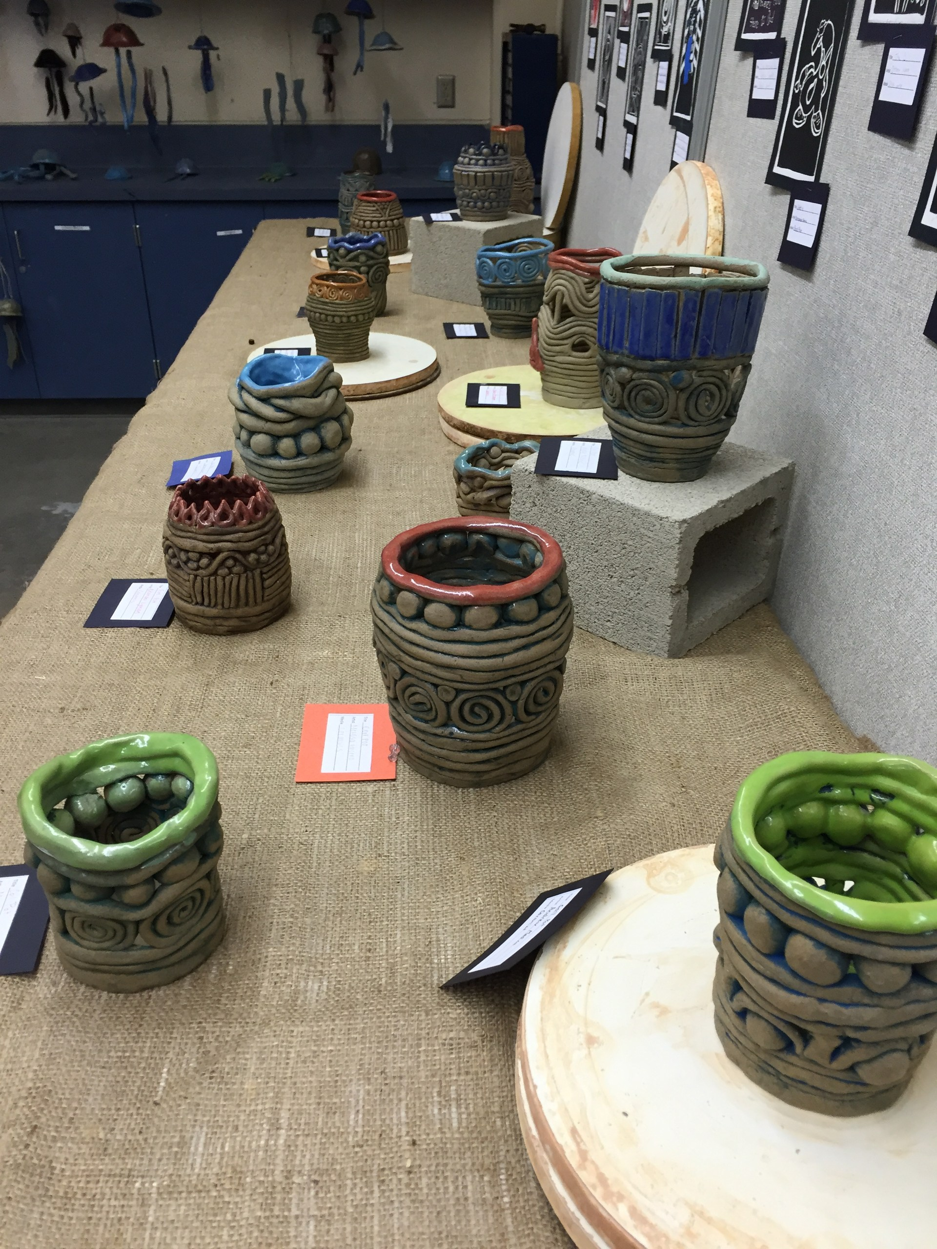 Art Show Pottery, Coil Pots