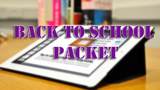 Back to School Packets Thumbnail Image