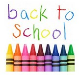 Welcome back with crayons picture
