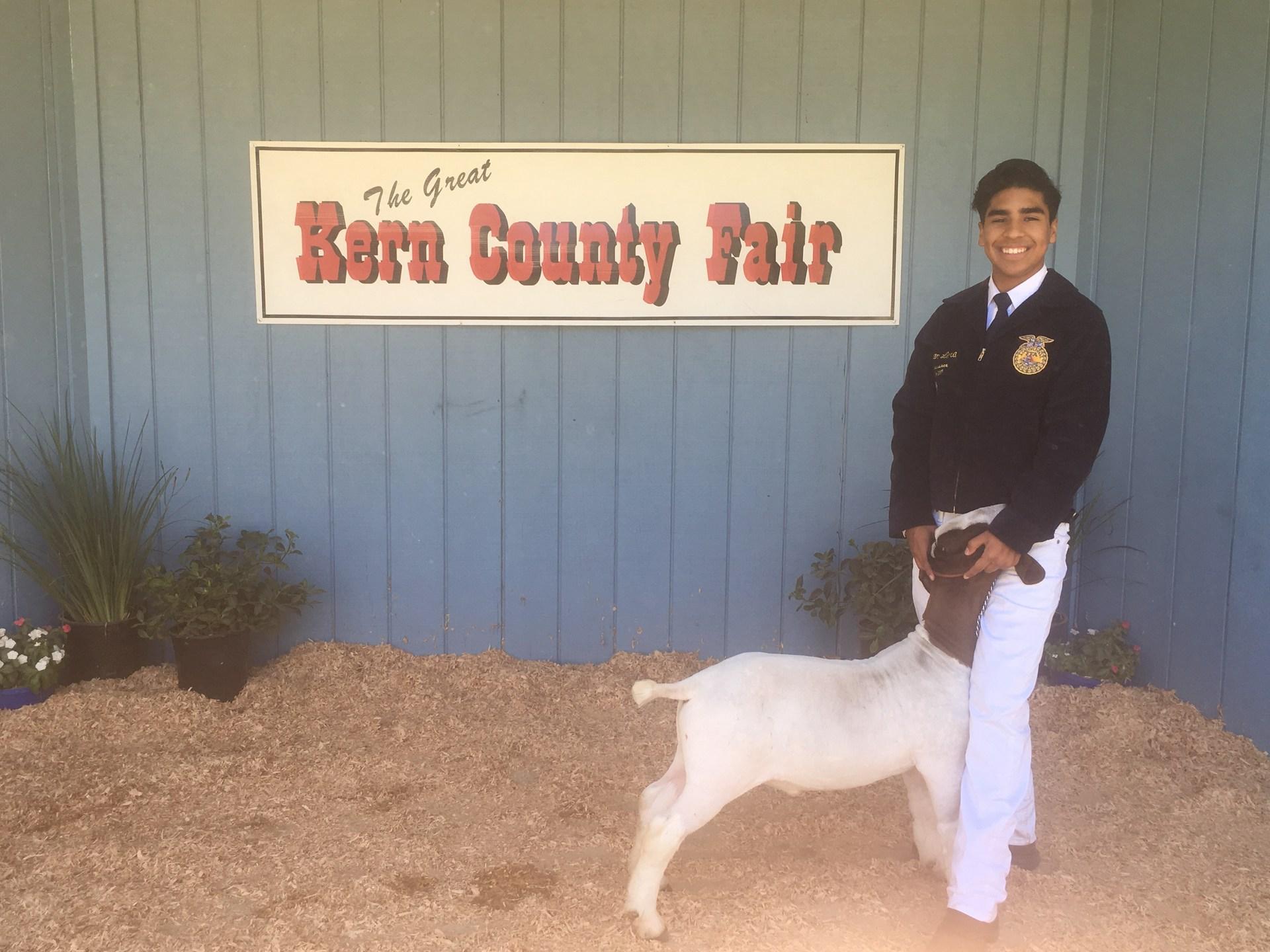 RHS FFA and goat