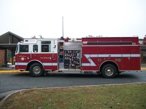 One of Thomasville Fire Department's fire trucks.