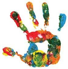 clipart of handprint
