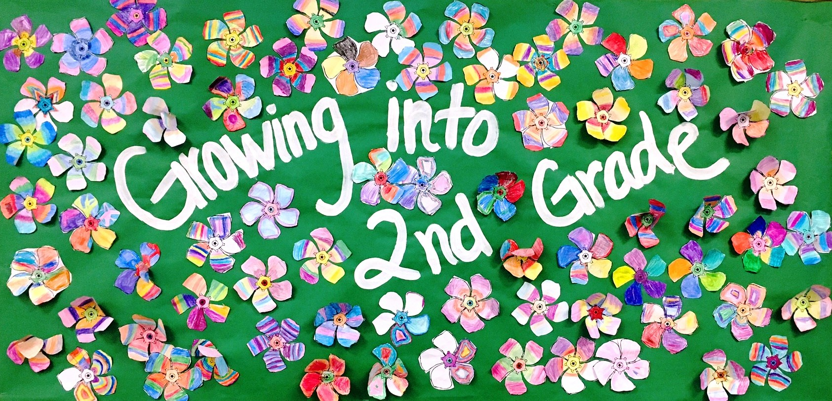 2nd Grade Flowers