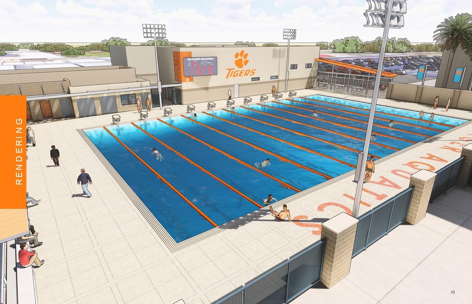Conceptual Drawing of Soboba Aquatic Center