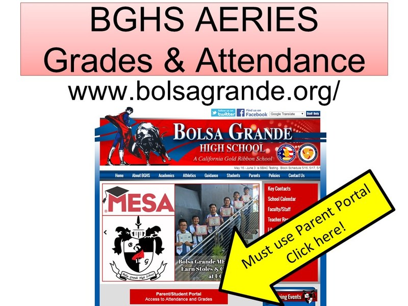AERIES Grades and Attendance Parent Portal Thumbnail Image