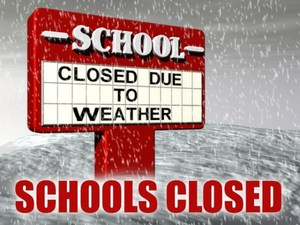 School closed winter