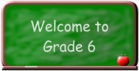 Welcome to 6th Grade Sign