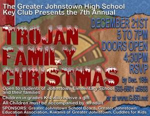 Trojan Family Christmas 2017