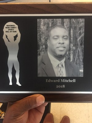 Coach Ed Mitchell's Award