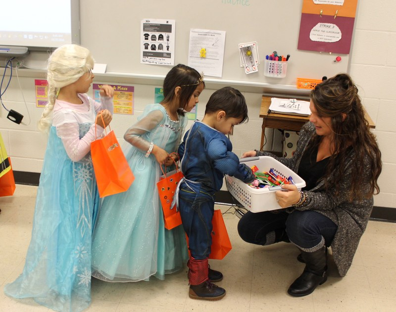 Red Raider Preschoolers Trick-or-Treat At Heritage Middle School Thumbnail Image