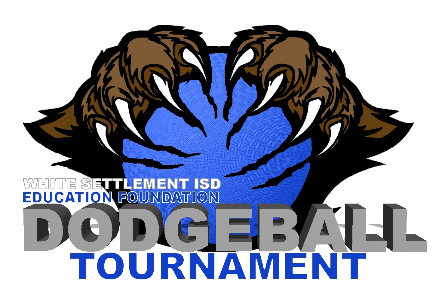 Dodgeball tournament flyer