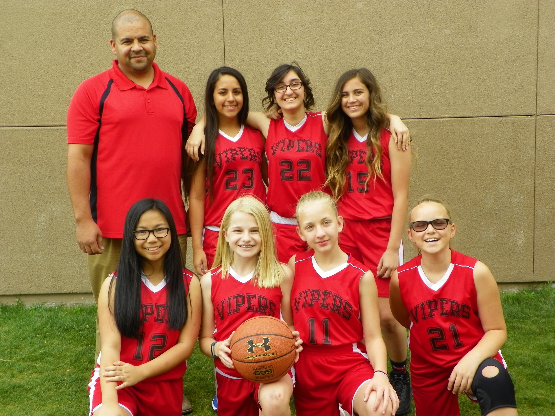 2017 Vipers Girls Basketball