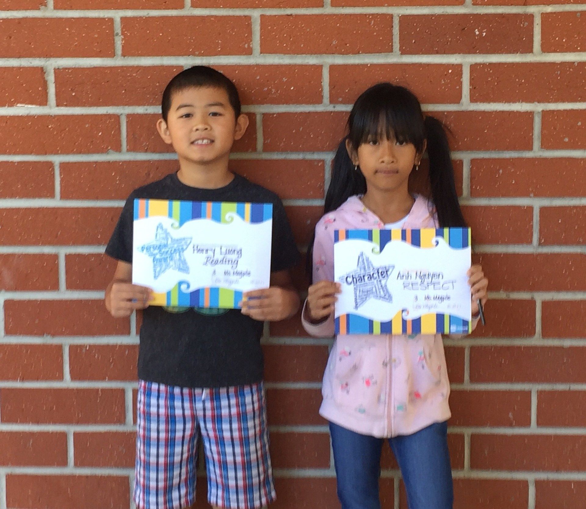 Ms. Magpile's October Honorees