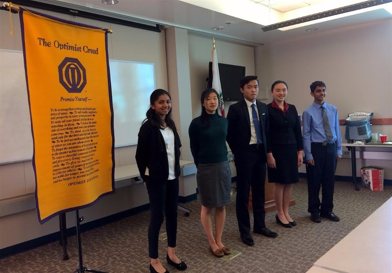 MMS Students Sweep the Optimist Oratorical Contest! Thumbnail Image