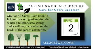 Parish Gardens - Clean Up June  2 Featured Photo