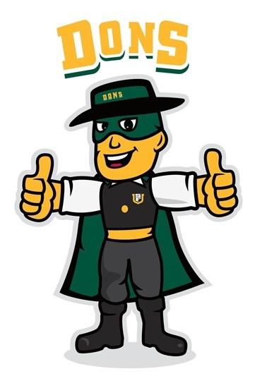 USF-Dons Mascot