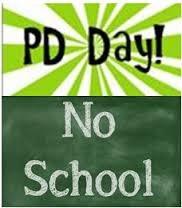 PD Day No School