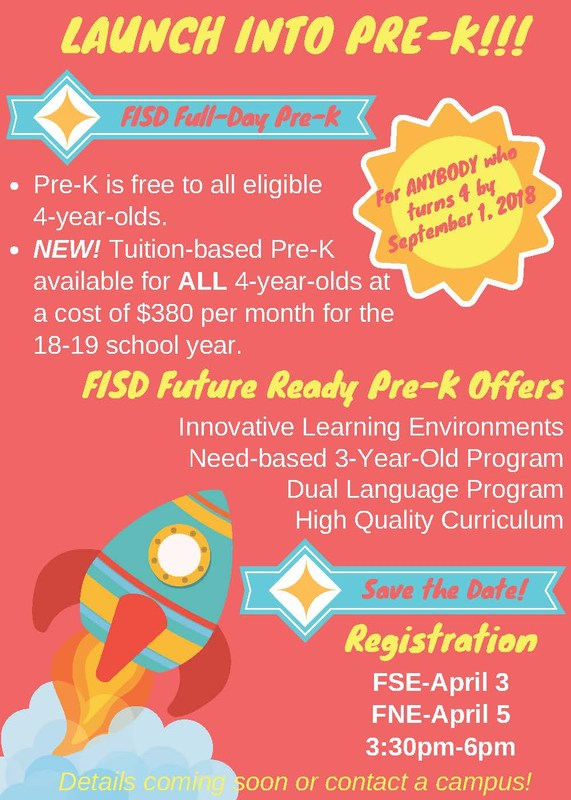Pre-K Registration! Featured Photo