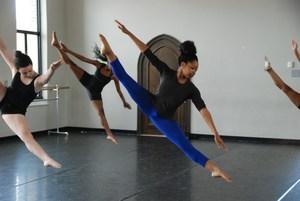 Dancers, Grand Center Arts Academy 2017