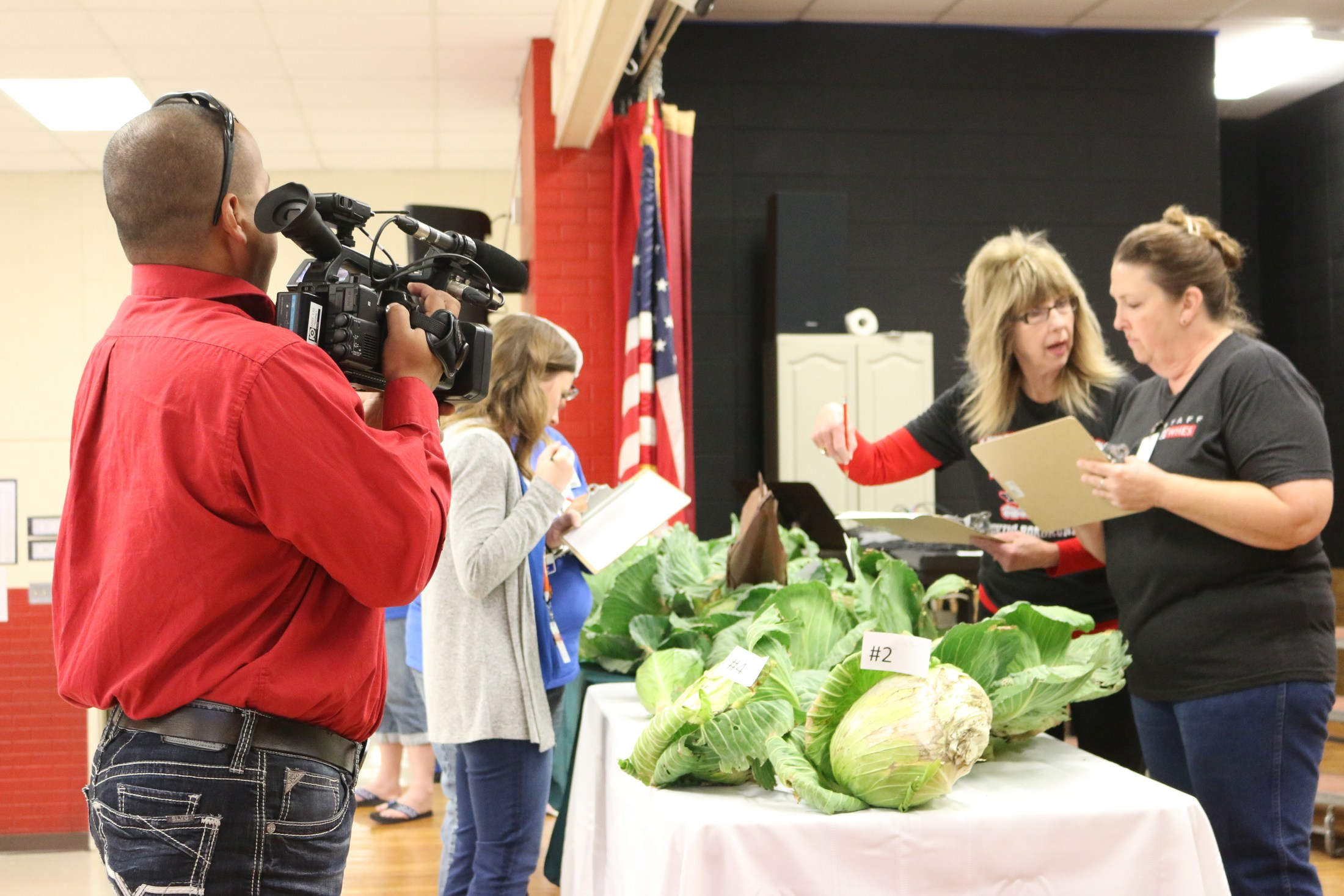 3rd Grade Bonnie Plants Cabbage Judging Contest