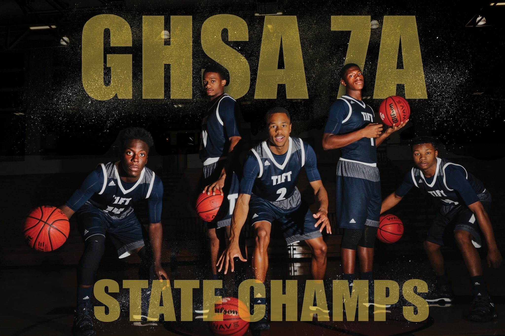 GHSA 7A State Champs Flyer