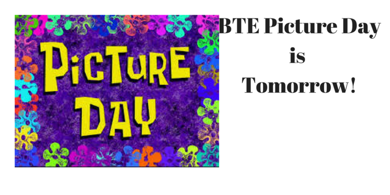 Spring pictures are tomorrow! Come with your great smiles! Thumbnail Image
