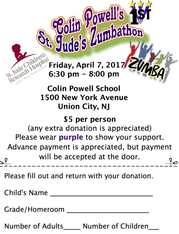 St. Judes Zumbathon English flyer