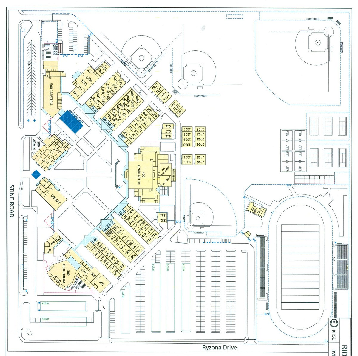 Campus Map About Ridgeview High School