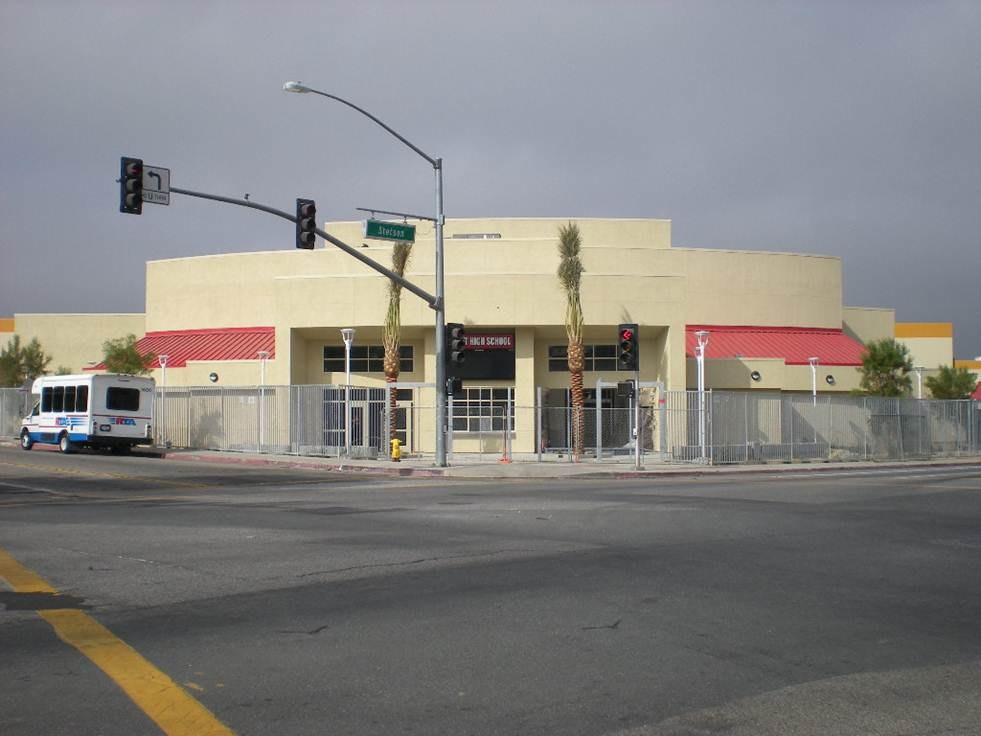 Hemet High School New Theater Building
