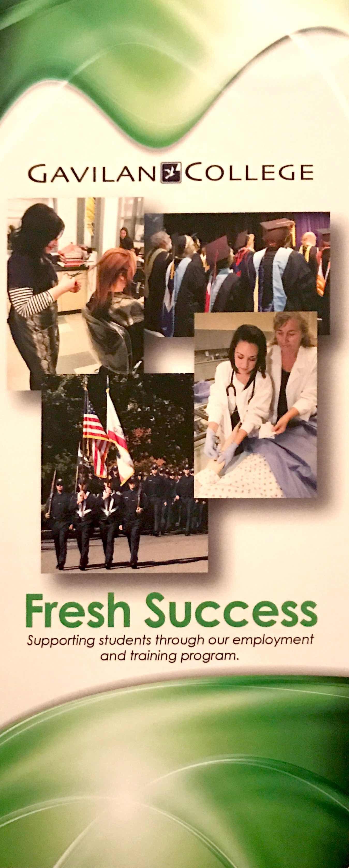 Gavilan College Brochure Cover